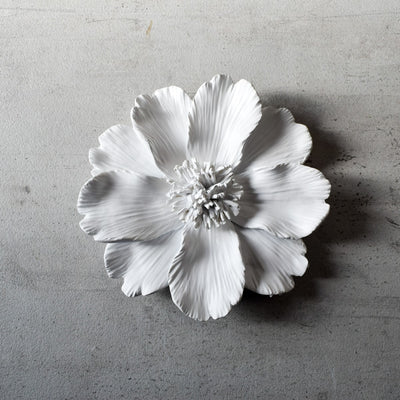 Peony Ceramic Flowers Wall Sculptures - Home Artisan_4