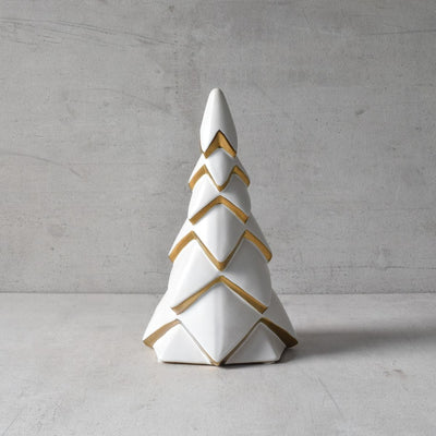 Ivory and Gold Christmas tree - Home Artisan