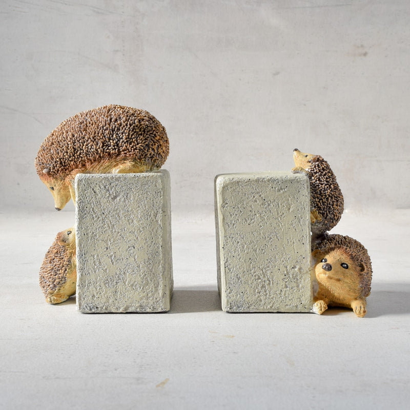 Playful Hedgehog Bookends - Home Artisan_1