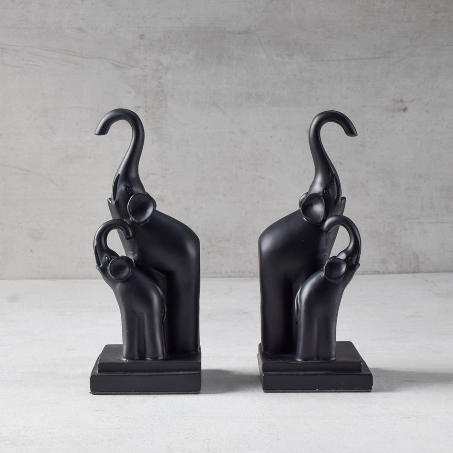 Timothy Elephant Herd Bookends