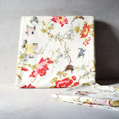 Kelly Floral Print Bed Sheet - Home Artisan