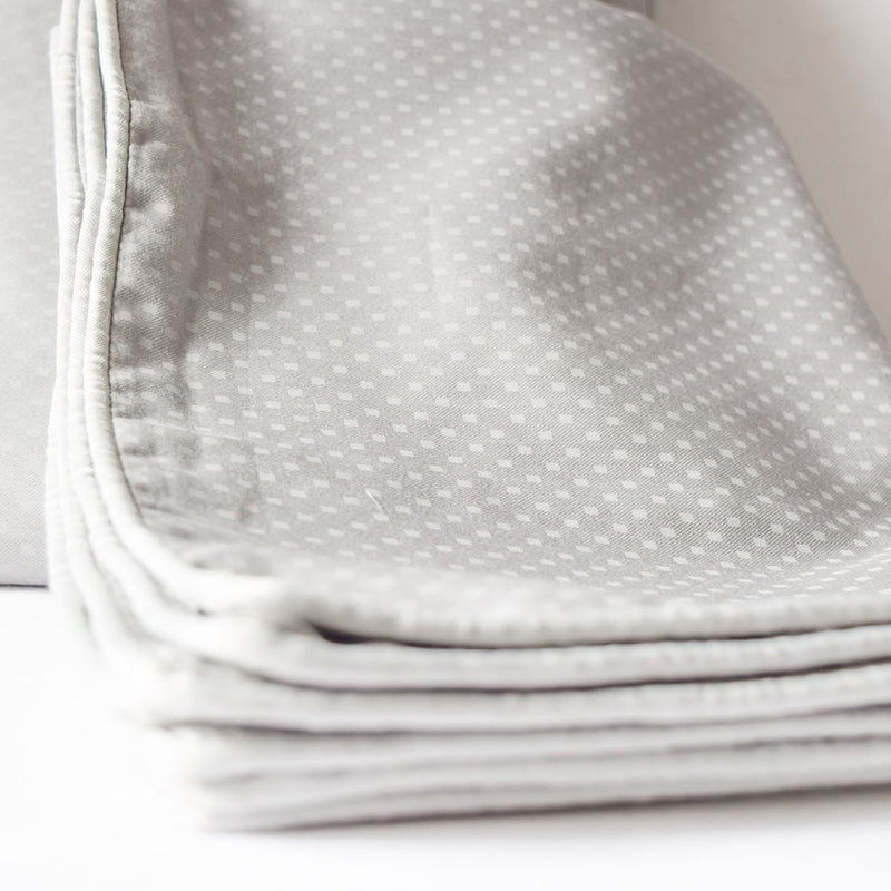 Cullen Grey Square Bed Sheet - Home Artisan_1