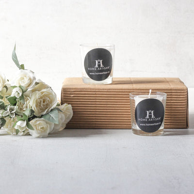 Norah Jasmine-Scented Glass Candles (Set of 2) - Home Artisan_2