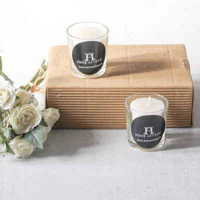 Norah Jasmine-Scented Glass Candles (Set of 2) - Home Artisan_1