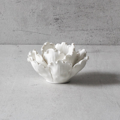 Peony Ceramic Tea Light Holders (Set of 2) - Home Artisan_5