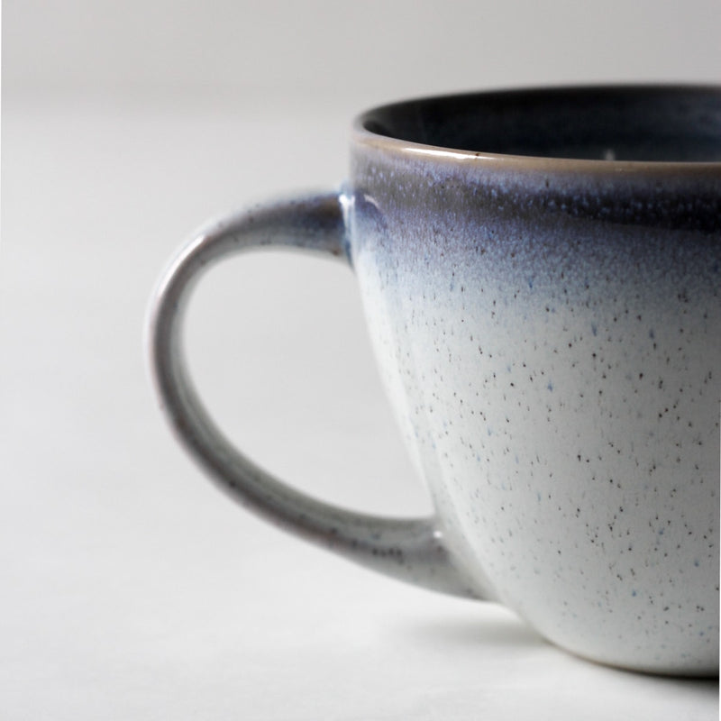 Abigail Blue and White Ceramic Mug - Home Artisan