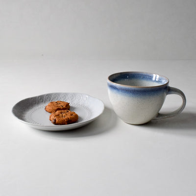 Abigail Blue and White Ceramic Mug - Home Artisan_4
