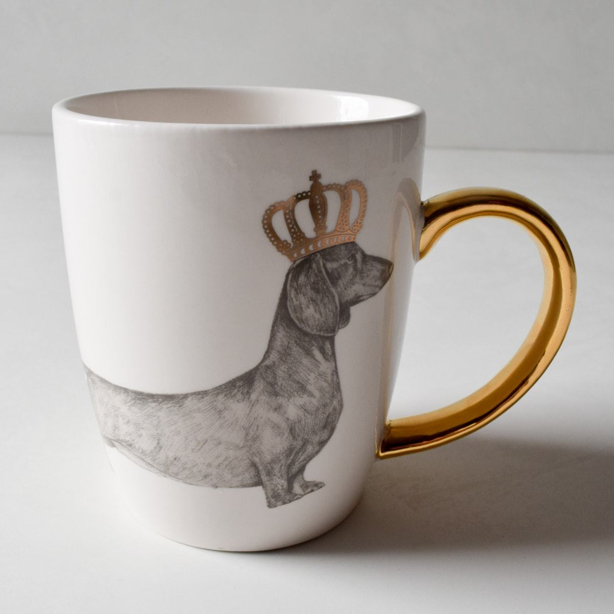 Blakely Crowned Dachshund Coffee Mug - Home Artisan