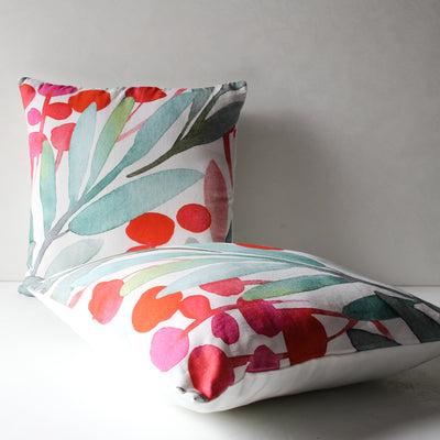Nymeria Floral Print Cushion Cover - Home Artisan_3