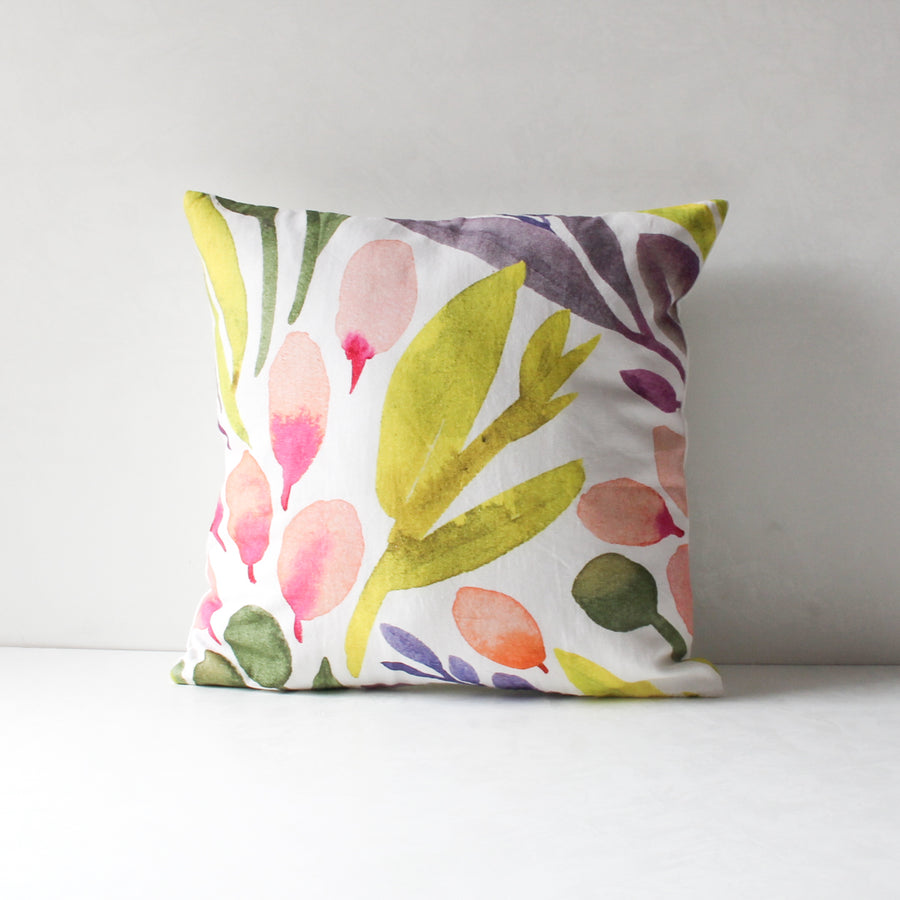 Marbela Floral Print Cushion Cover