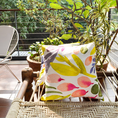 Marbela Floral Print Cushion Cover - Home Artisan_1