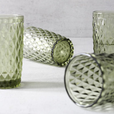 Atwood Kale Drinking Glasses - Set of 4 - Home Artisan_3