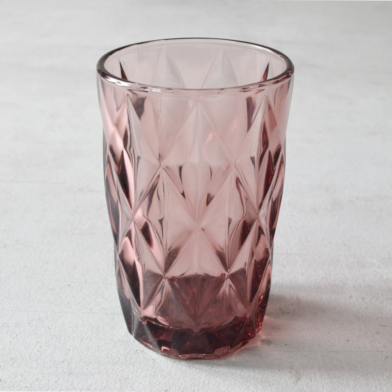 Aaron Plum Geometric Drinking Glasses - Set of 4 - Home Artisan_1