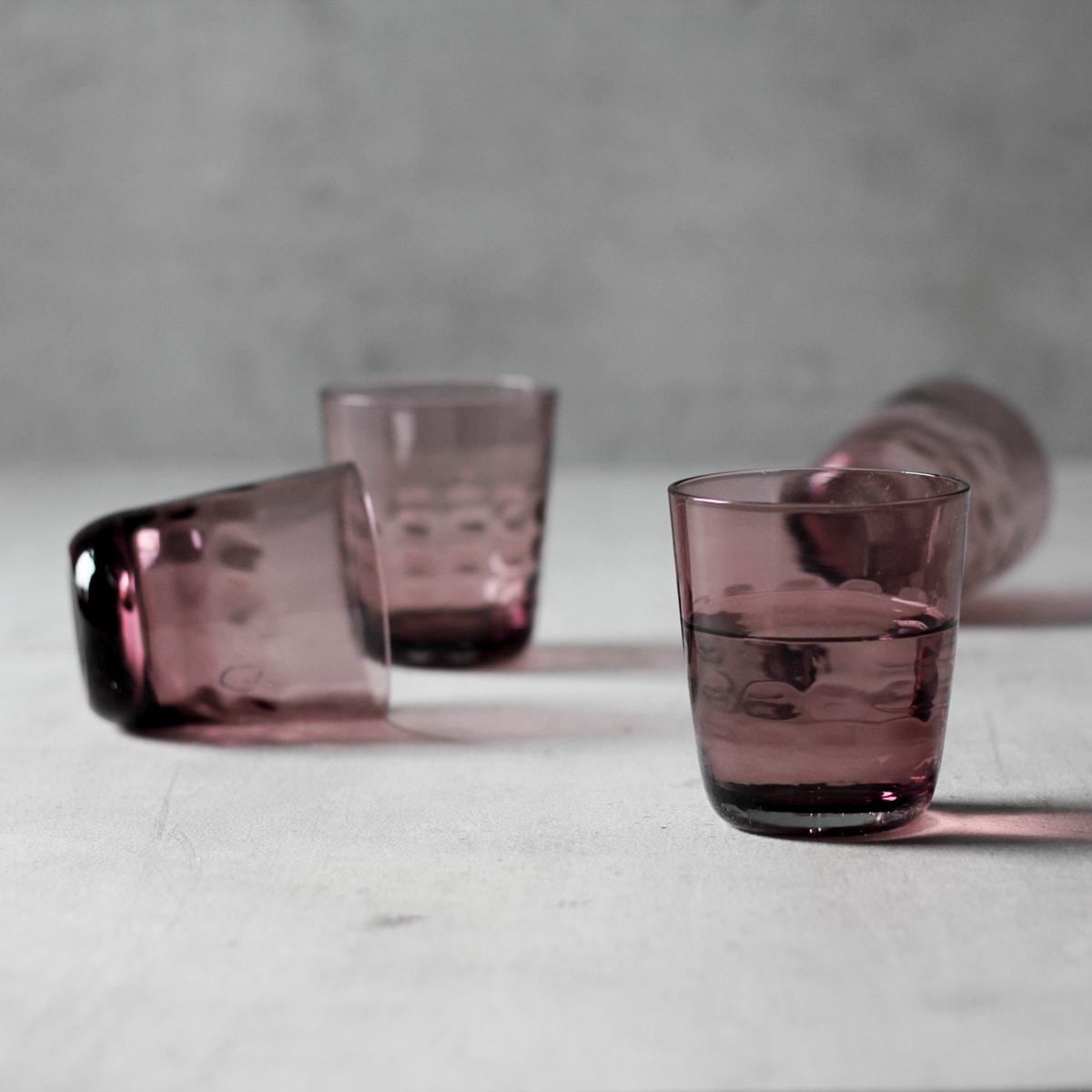 Sherry Plum Drinking Glass (Set of 6)
