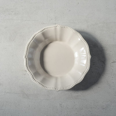 Morgan White Ceramic Bowl - Home Artisan
