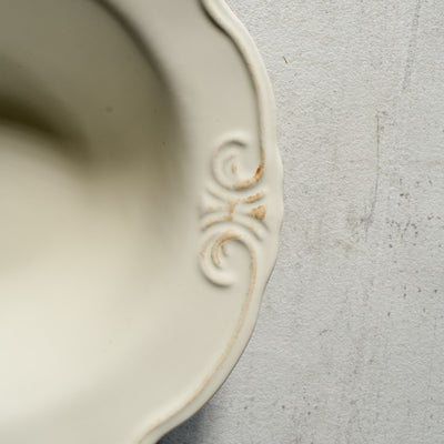 Naomi White Ceramic Bowls (Set of 2) - Home Artisan_3