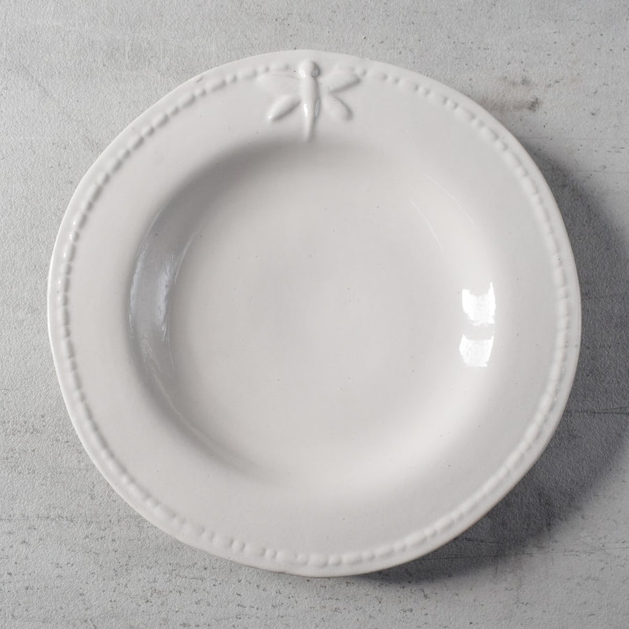 Dragonfly Ceramic Serving Plate