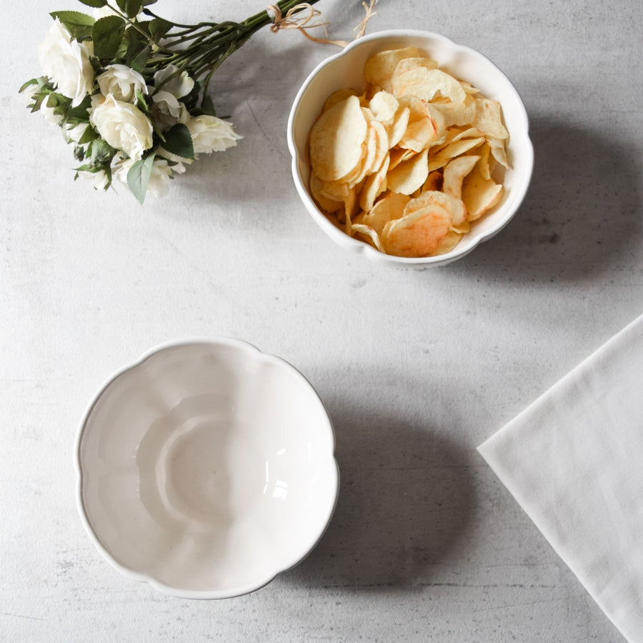 Moore Ceramic Snack Bowl - Set of 2