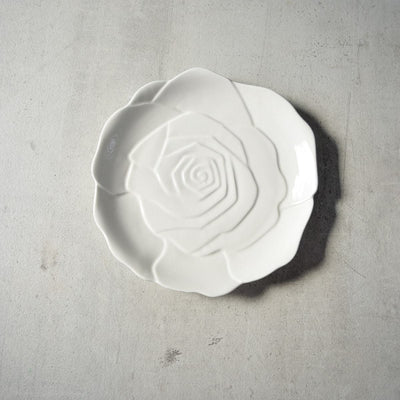 Rose Ceramic Serving Platter - Home Artisan