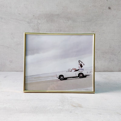Minimal Golden Photo Frame (10x12) - Home Artisan
