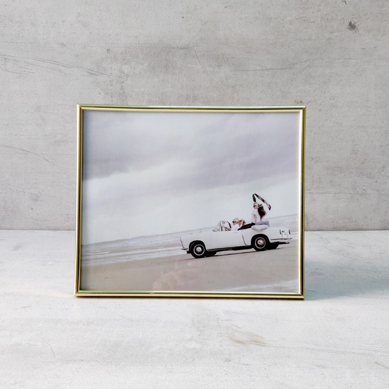 Minimal Golden Photo Frame (10x12)
