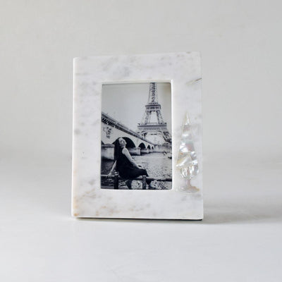 Melrose Mother of Pearl Cypress Photo frame - Home Artisan