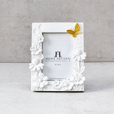 Esca Bloom and Butterfly Photo Frame