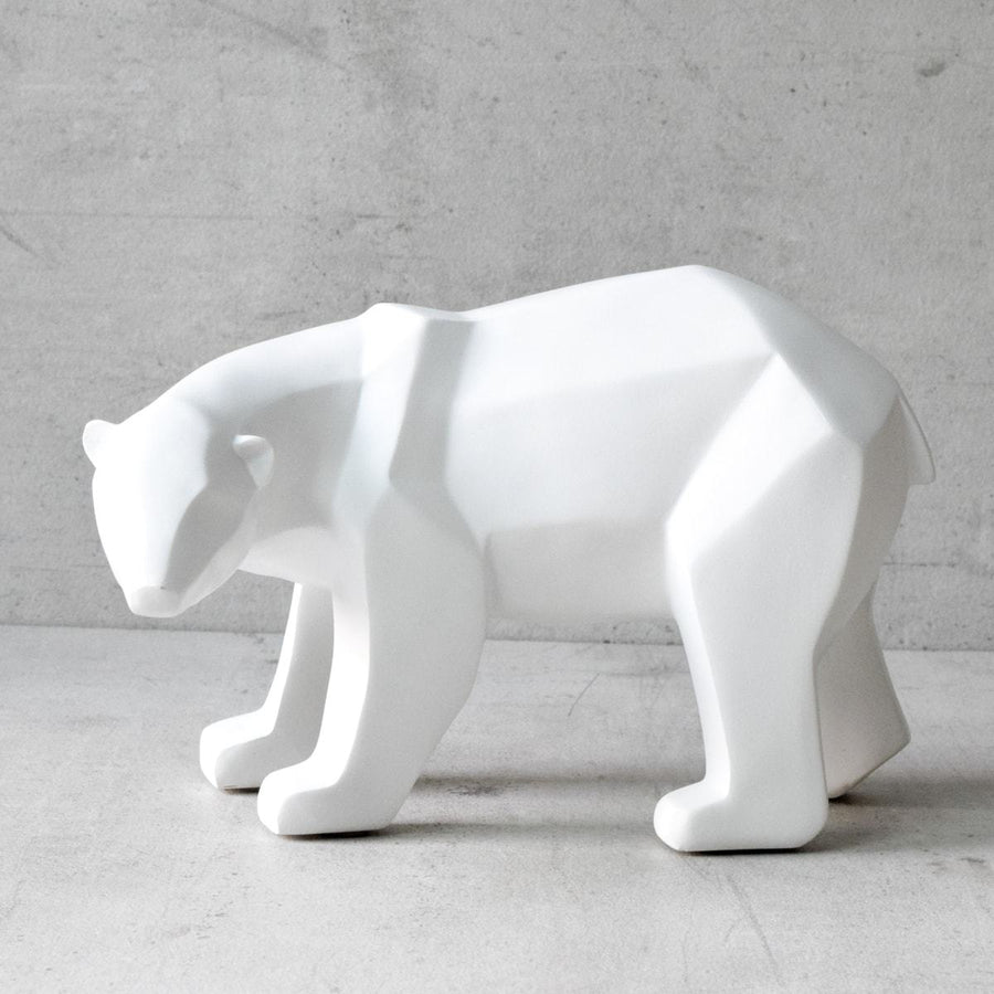 Nikolai Polar Bear Sculpture  - Home Artisan