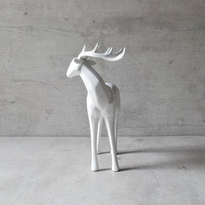 Dasher Reindeer Sculpture - Home Artisan_2