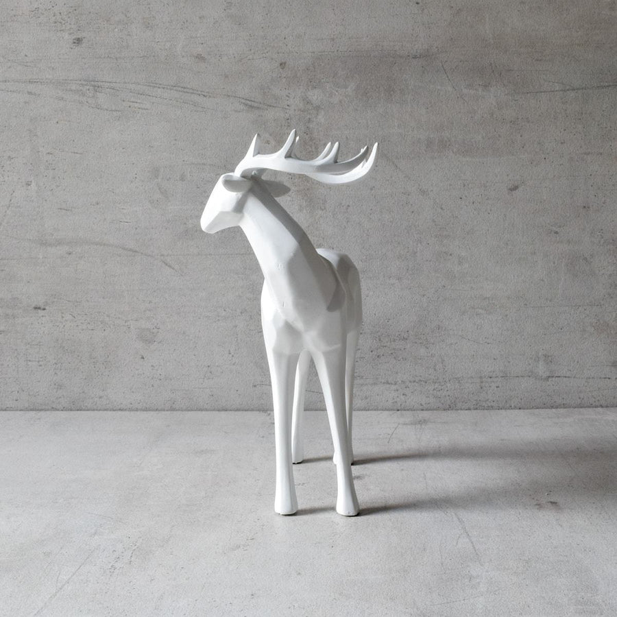 Dasher Reindeer Sculpture