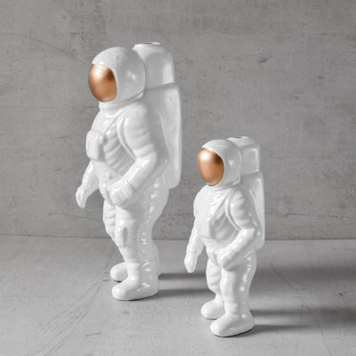 Armstrong Astronaut Sculpture - Set of 2