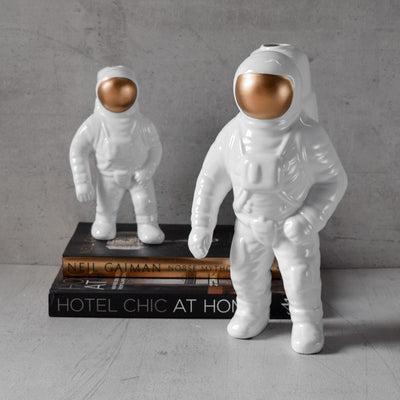 Armstrong Astronaut Sculpture - Set of 2 - Home Artisan