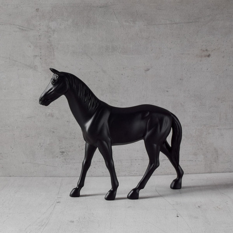 Alastor Horse Sculpture - Black - Home Artisan