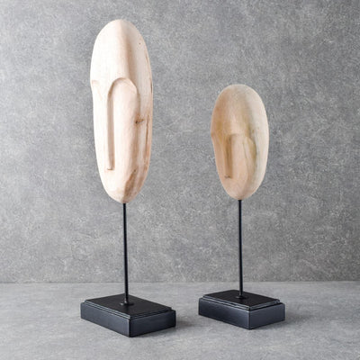 Prometheus Men Sculptures (Wooden) - Set of 2