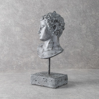 Ephebe of Marathon Head Bust