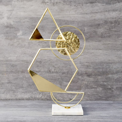 Myers Geometric Sculpture - Home Artisan