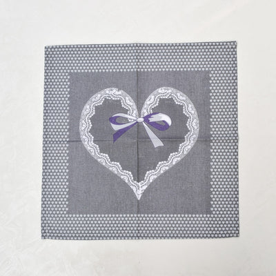 Tessa Grey Placemats with Napkins - Set of 2 - Home Artisan_5