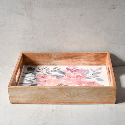 June Mango Wood Serving Tray