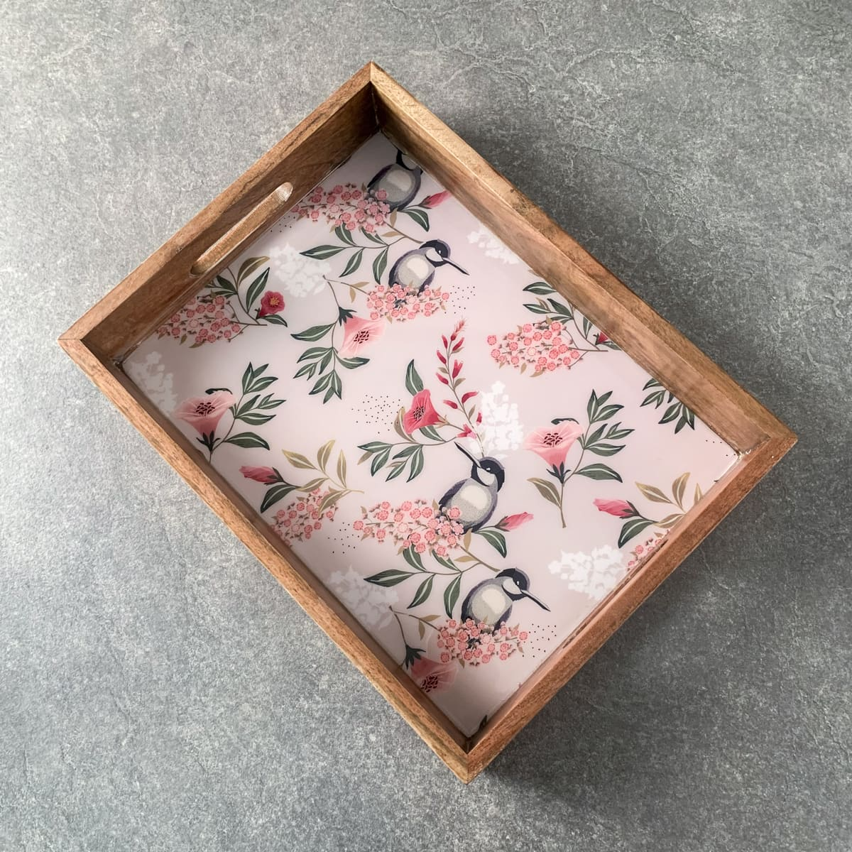 Camryn Mango Wood Tray - Home Artisan
