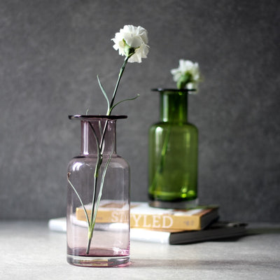 Elsa Plum Glass Vase - Home Artisan_2