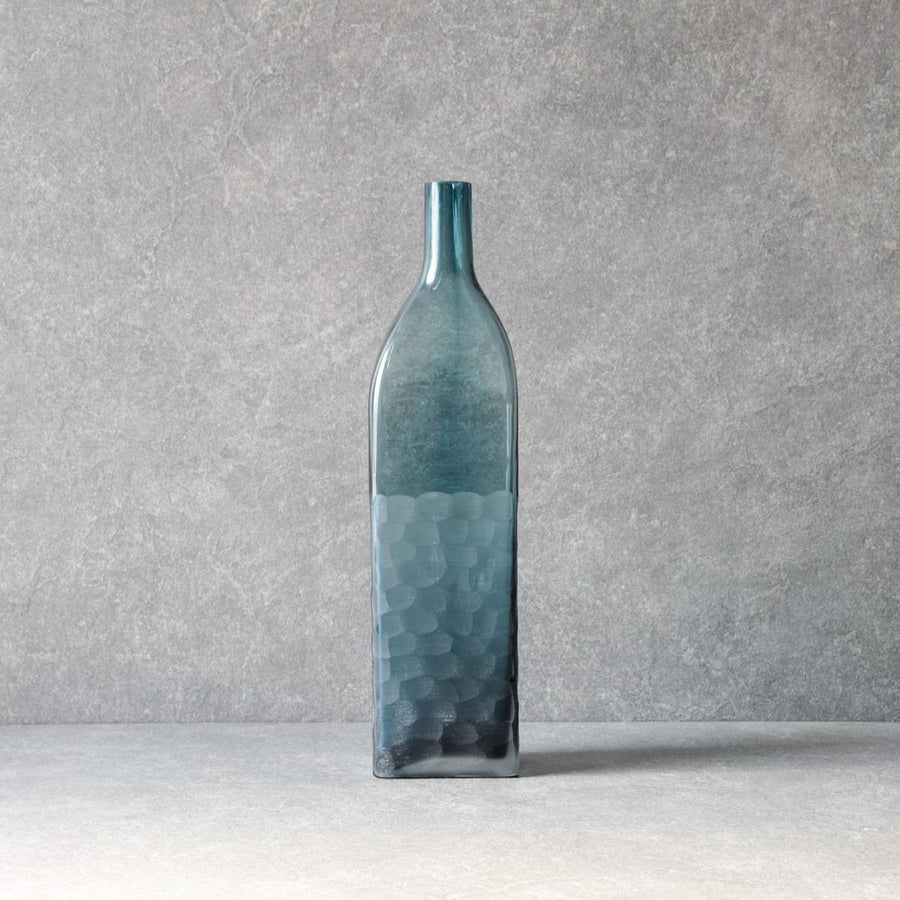 Eduardo Blue Glass Vase