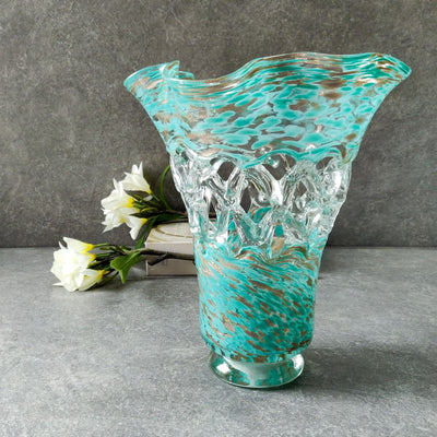 Melissa Glass Vase - Home Artisan