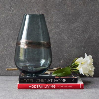 Saltzer Glass Vase - Large - Home Artisan
