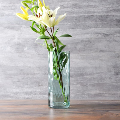 Visenna Sea Green Glass Vase (Tall) - Home Artisan
