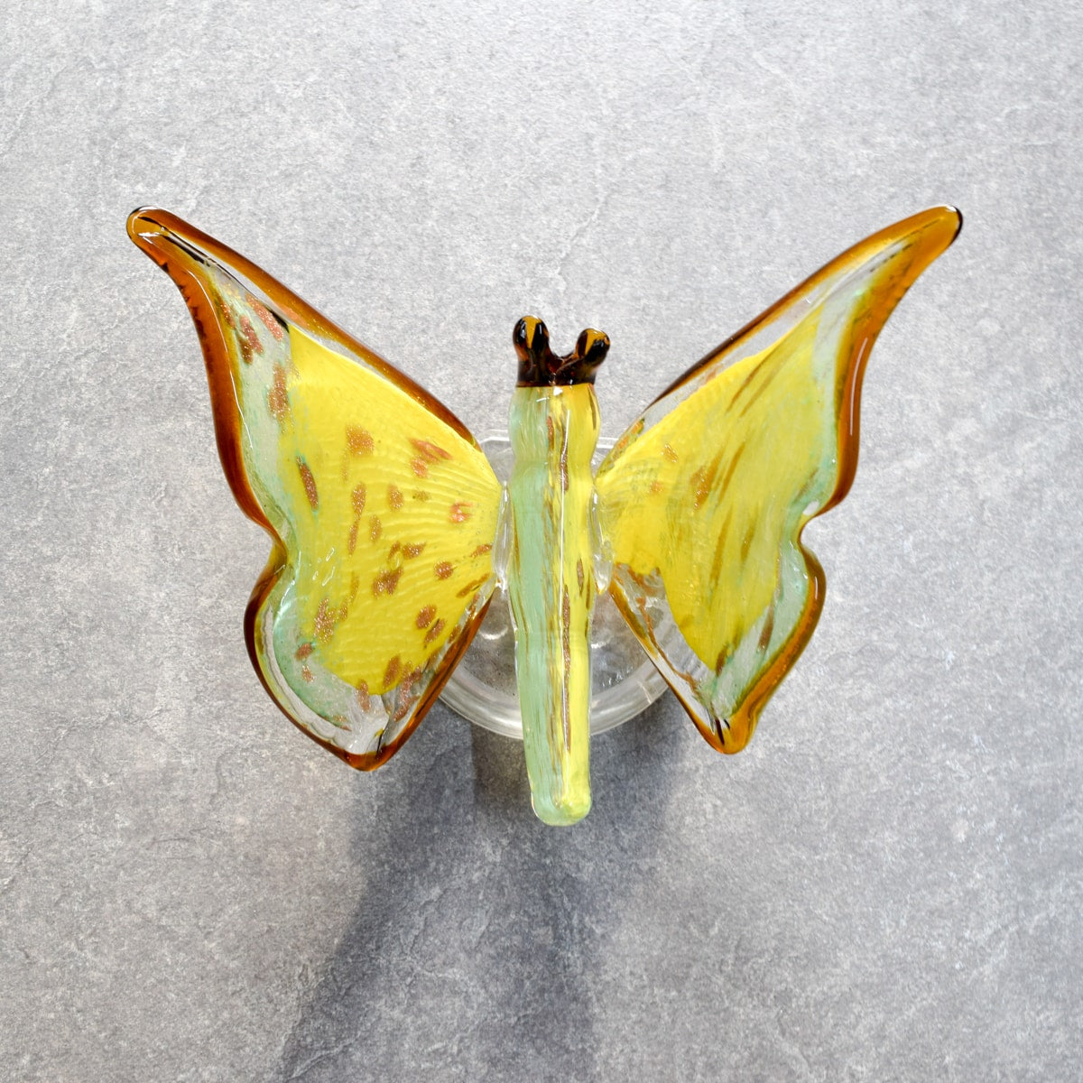 Samara Yellow Butterfly Wall Sculpture