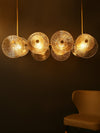 Gwendoline Glass Disc Chandelier - Home Artisan