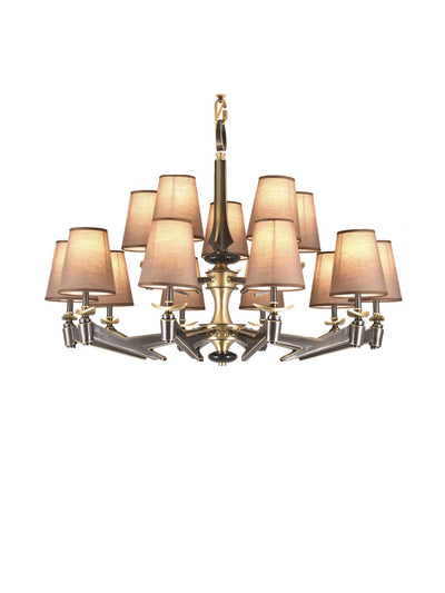Reed Chandelier - Home Artisan