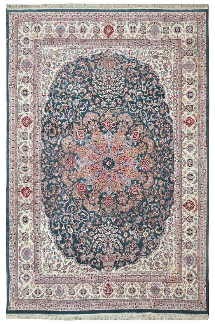 Ruqaiya Hand Knotted Rug by House of Rugs - Home Artisan