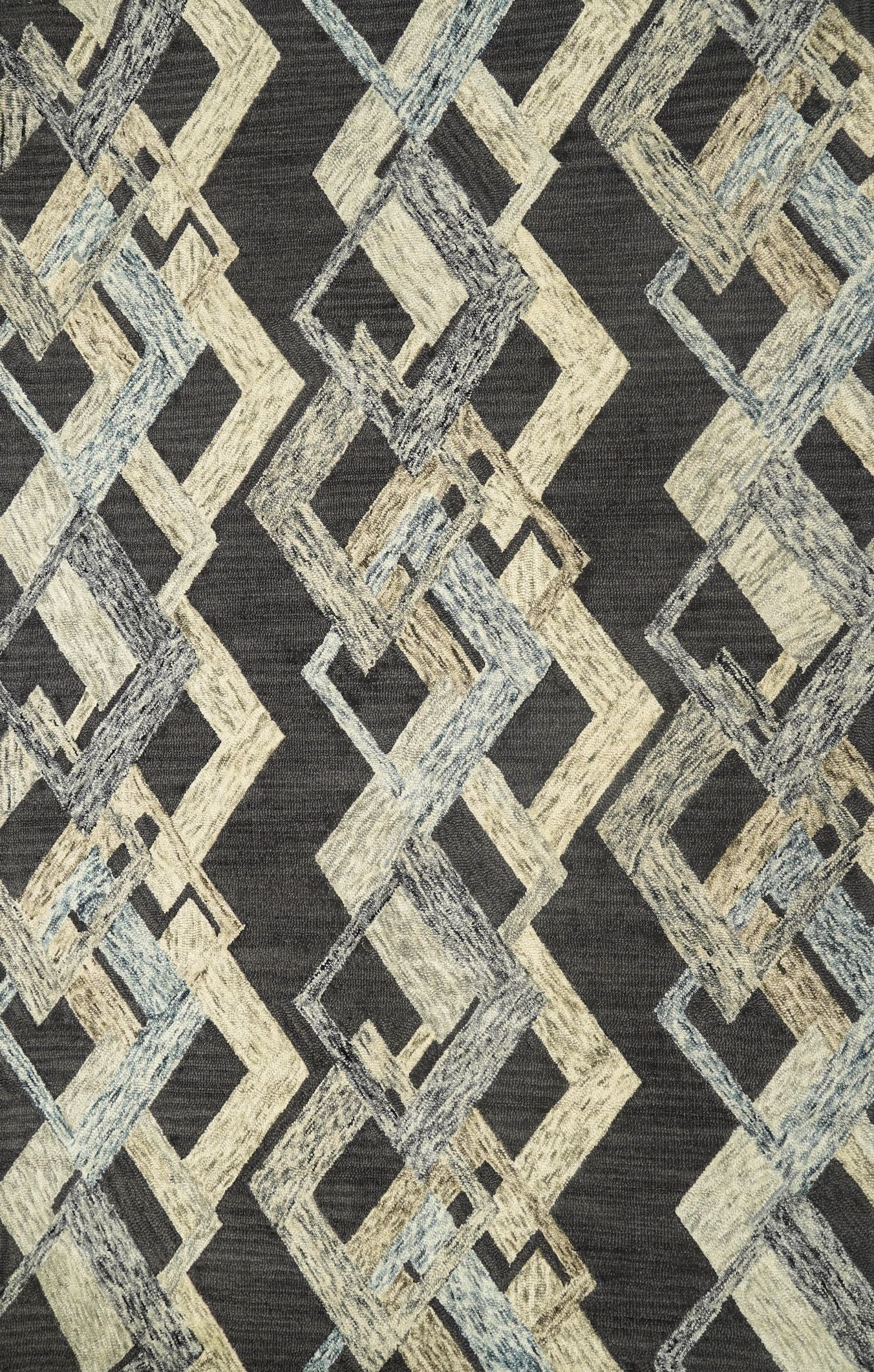 Trellis Hand Tufted Rug by House of Rugs - Home Artisan