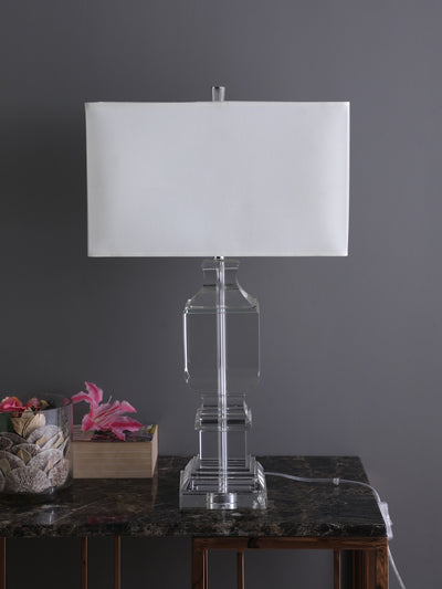 Leora Crystal Base Table Lamp